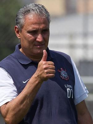 Tite treino Corinthians (Foto: Daniel Augusto Jr. / Agência Corinthians)