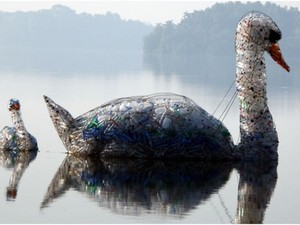 Curso com arte em material reciclável será na próxima semana (Foto: FCC/Divulgação)
