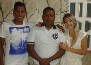 Grêmio Pedro Rocha pai Jessé (Foto: Arquivo Pessoal)