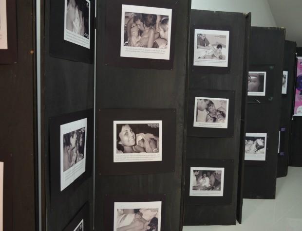 Exposição em Ariquemes, RO (Foto: Franciele do Vale/G1)