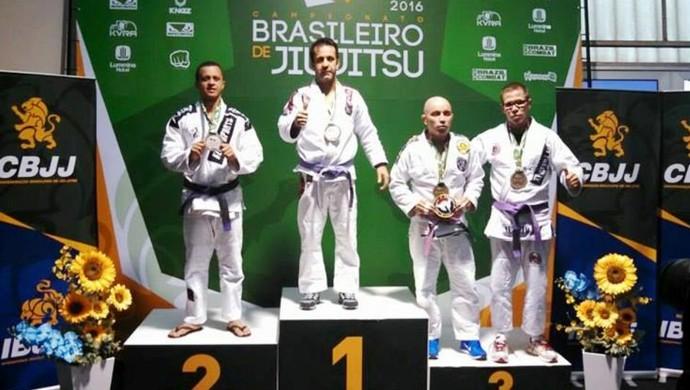 Leandro Gross, campeão brasileiro de jiu-jítsu 2016 (Foto: Allan Ascendino/Arquivo Pessoal)