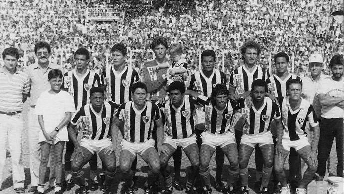 Araxá 1990 Estádio Fausto Alvim, campeão do Módulo II (Foto: Alcino de Freitas/Arquivo Pessoal)