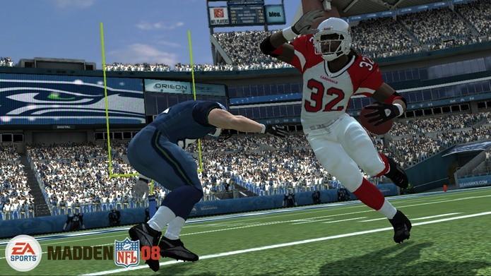 Madden NFL 08 e mais  veja os melhores jogos de futebol americano ... 3bcc279b86573