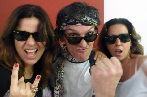 Luciana Fregolente, Paulo Miklos e Renata Castro Barbosa (Foto: Divulgação)