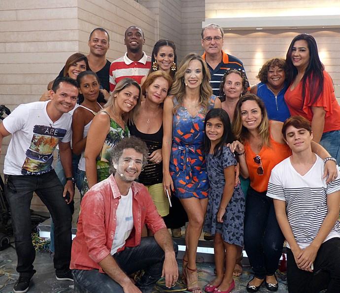 Mais plateia do programa  (Foto: Cristina Cople/Gshow)