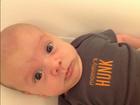 Patrícia Abravanel posta foto do filho: 'Meu gatão ficando careca'