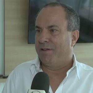 José Carlos Fernandes SOS Mogi Mirim Sócio Torcedor Sapo (Foto: Reprodução / EPTV)