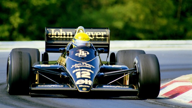 Ayrton Senna Lotus 1986 (Foto: Getty Images)