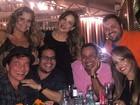 Claudia Leitte reúne amigos como Netinho para comemorar seus 35 anos