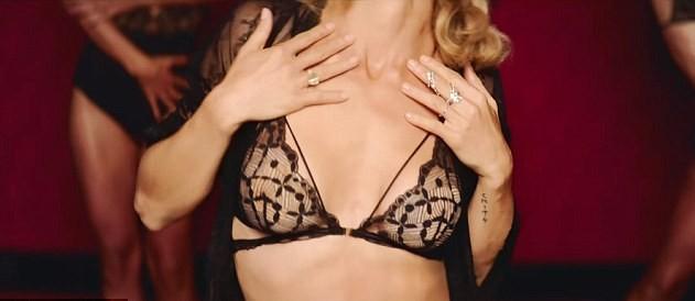 Elsa Pataky em campanha de lingerie (Foto: reprodução )