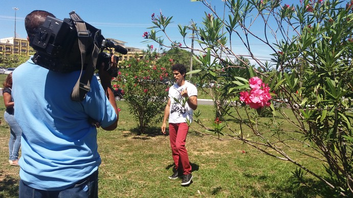 Bastidores Aprovado (Foto: TV Bahia)