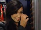 Kim Kardashian chora com as dores da gravidez