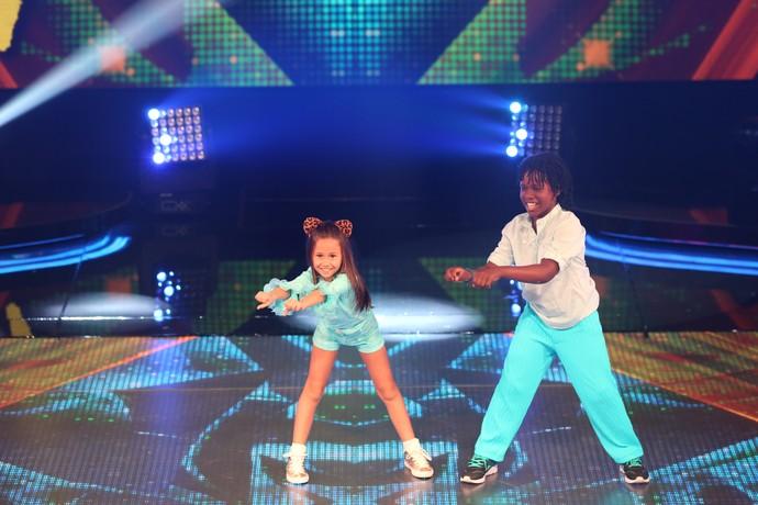 Nathália e Wesley dançaram 'No Money', do Galantis (Foto: Carol Caminha/Gshow)