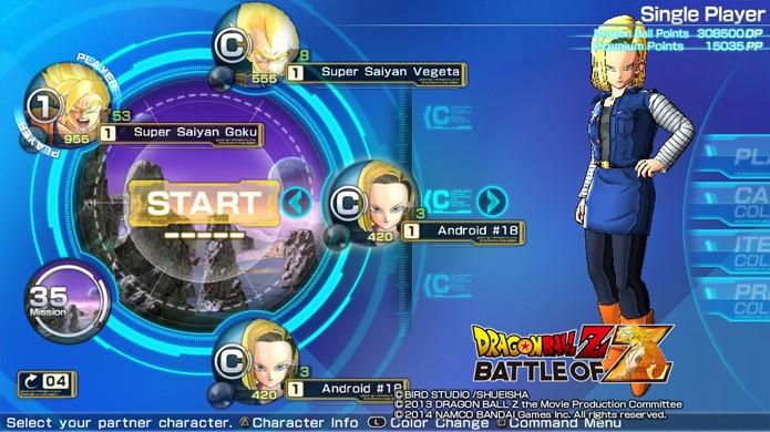 Um time equilibrado precisa de um bom Support e Kuririn, Gohan e Androide Nº 18 são boas opções (Foto: Reprodução)