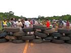 Após 6 dias de protesto, trabalhadores encerram bloqueio na BR-163 em MT