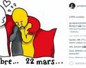 Esportistas homenageiam a Bélgica após explosões que deixaram mortos