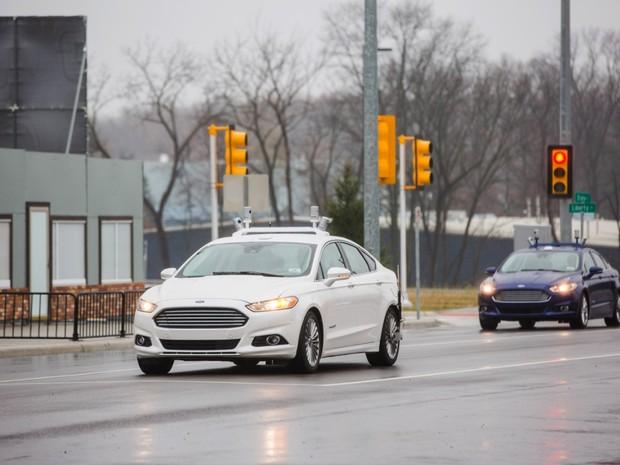 Ford usará sensor mais barato para ampliar testes de carros autônomos (Foto: Divulgação)