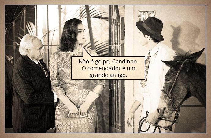 Filomena (Foto: TV Globo)