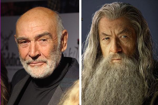 Sean Connery perdeu o papel de Gandalf para Ian McKellen (Foto: Getty Images / Reprodução)