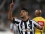 """Leandrinho bate firme, dá vitória ao Bota sobre Grêmio e faz a """"pintura"""""""
