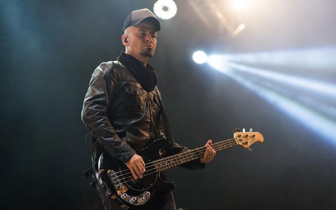 Sérgio Britto mostra o rock dos Titãs no palco do João Rock 2016 (Foto: Érico Andrade/Gshow)