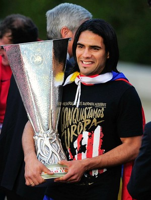 Falcao García Atlético de Madri (Foto: Getty Images)