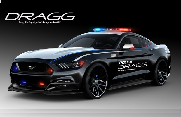 Ford levará viatura policial com 912 cv para o SEMA (Foto: Divulgação)