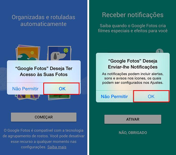 Libere acesso a fotos e notificações no iPhone (Foto: Reprodução/Paulo Alves)