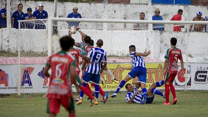 Humberto, goleiro do CEO (Foto: Ailton Cruz/ Gazeta de Alagoas)
