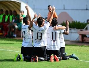Rio Branco-SP Tigre Elenco Série A2 (Foto: Sanderson Barbarini / Foco no Esporte)