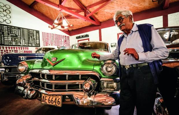 O Cadillac De Ville 1953 nunca foi restaurado e rodou apenas 20 mil km em mais de 60 anos  (Foto: Leo Cavallini)