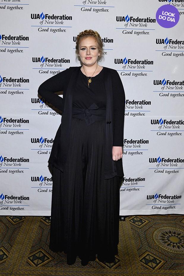 Look do dia - Adele (Foto: AFP / Agência)