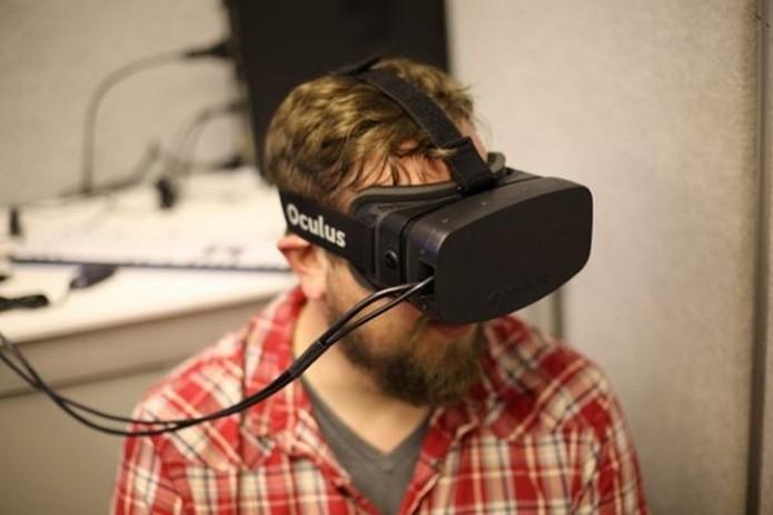 Protótipo do Oculus Rift HD, apresentado em 2013 (Foto: Divulgação/Oculus VR)