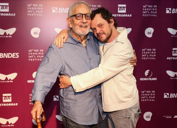 Paulo José e MAtheus Nachtergaele (Foto: Roberto Filho/Brazil News)