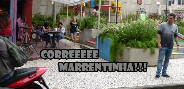 Vai, Lia!!! Corre mto e tenta alcançar o Vitinho!!! (Foto: Malhação / Tv Globo)