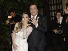 Veja fotos do casamento de Fábio Jr. e Fernanda Pascucci em São Paulo