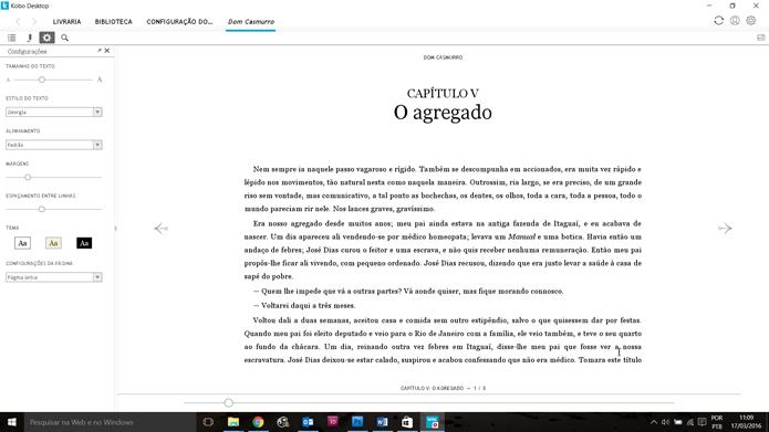 Kobo é bem similar ao app Kindle (Foto: Reprodução/Filipe Garrett)