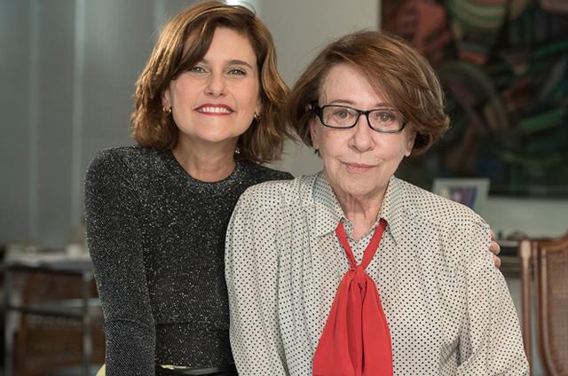 Simone Zuccolotto, do Canal Brasil, gravou com Fernanda Montenegro um dos episódios de 'A mulher no cinema' (Foto: Divulgação)