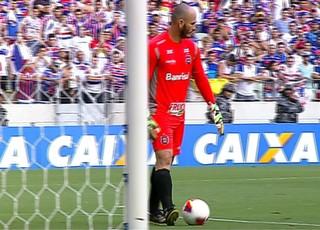 Eduardo Martini Brasil de Pelotas Fortaleza (Foto: Reprodução )