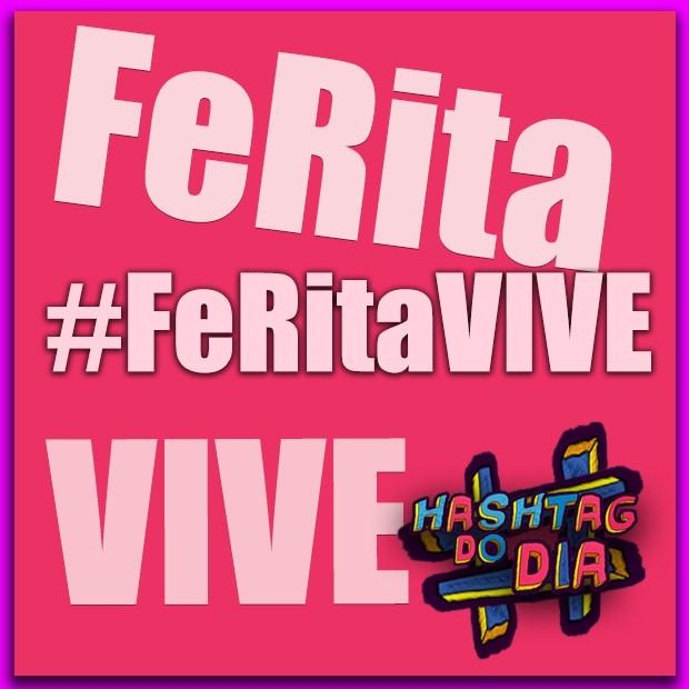 #HashtagDoDia: FeRita VIVE (Foto: Malhação / TV Globo)