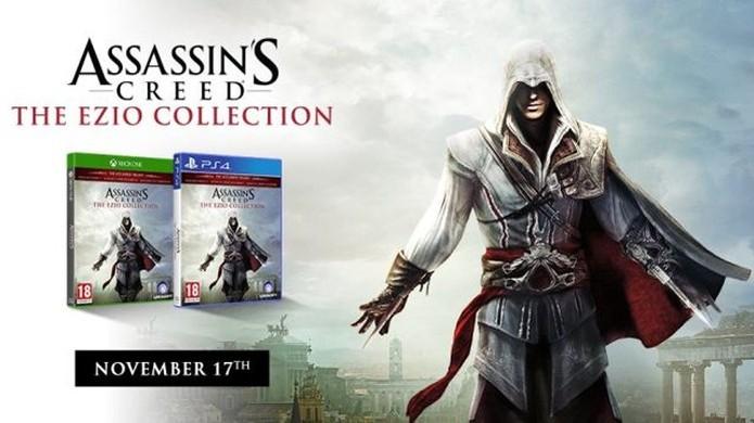 Assassin's Creed: The Ezio Collection trará o popular assassino remasterizado para o PlayStation 4 e Xbox One (Foto: Reprodução/DolphinSix) (Foto: Assassin's Creed: The Ezio Collection trará o popular assassino remasterizado para o PlayStation 4 e Xbox One (Foto: Reprodução/DolphinSix))