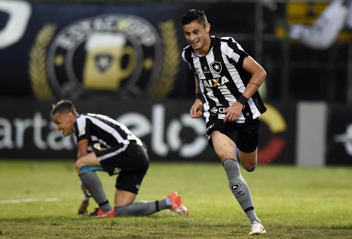 Botafogo Corinthians Diogo Barbosa (Foto: André Durão)