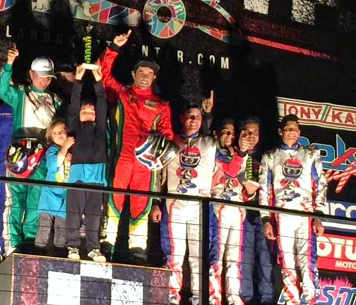 Emerson Fittipaldi vence corrida de kart em Orlando
