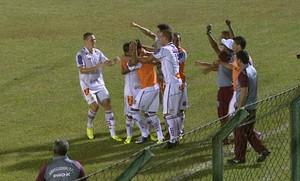Gol do Sertãozinho na Série A3 (Foto: Reprodução EPTV)