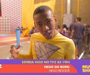 """Nego do Borel estreia o clipe de """"Nego Resolve"""" no TVZ desta quarta (16)"""