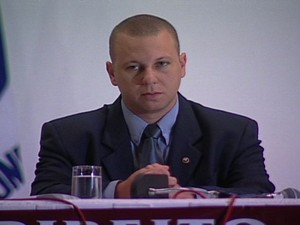 Juiz Alexandre Martins, assassinado em 2003 (Foto: Arquivo / TV Gazeta)