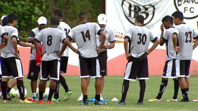 Rio Branco-SP treino Americana (Foto: Carlos Velardi / EPTV)
