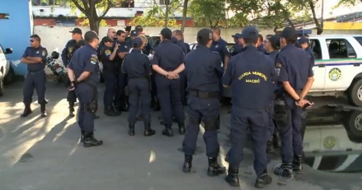 3aa71f8a75 G1 - Guardas municipais de Maceió voltam ao trabalho após escala ser  revogada - notícias em Alagoas