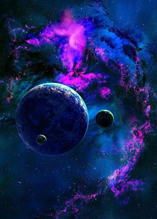 Planetas (Foto: Pinterest)