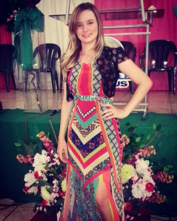 Arielle, irmã de Stefhany Absoluta  (Foto: Reprodução / Instagram)